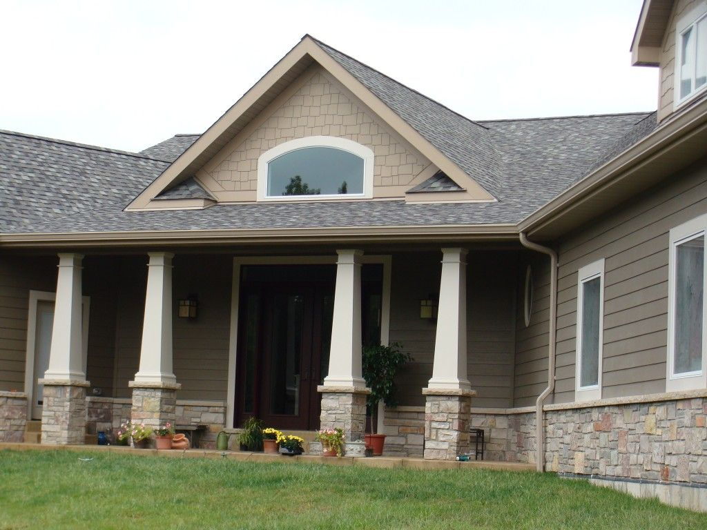 Pin By Jessica Spencer On For Our Humble Abode Exterior Paint Colors For House House Paint Exterior Brown Roofs