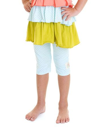 Look what I found on #zulily! Mango Stripe Perfection Leggings - Infant, Toddler & Girls #zulilyfinds