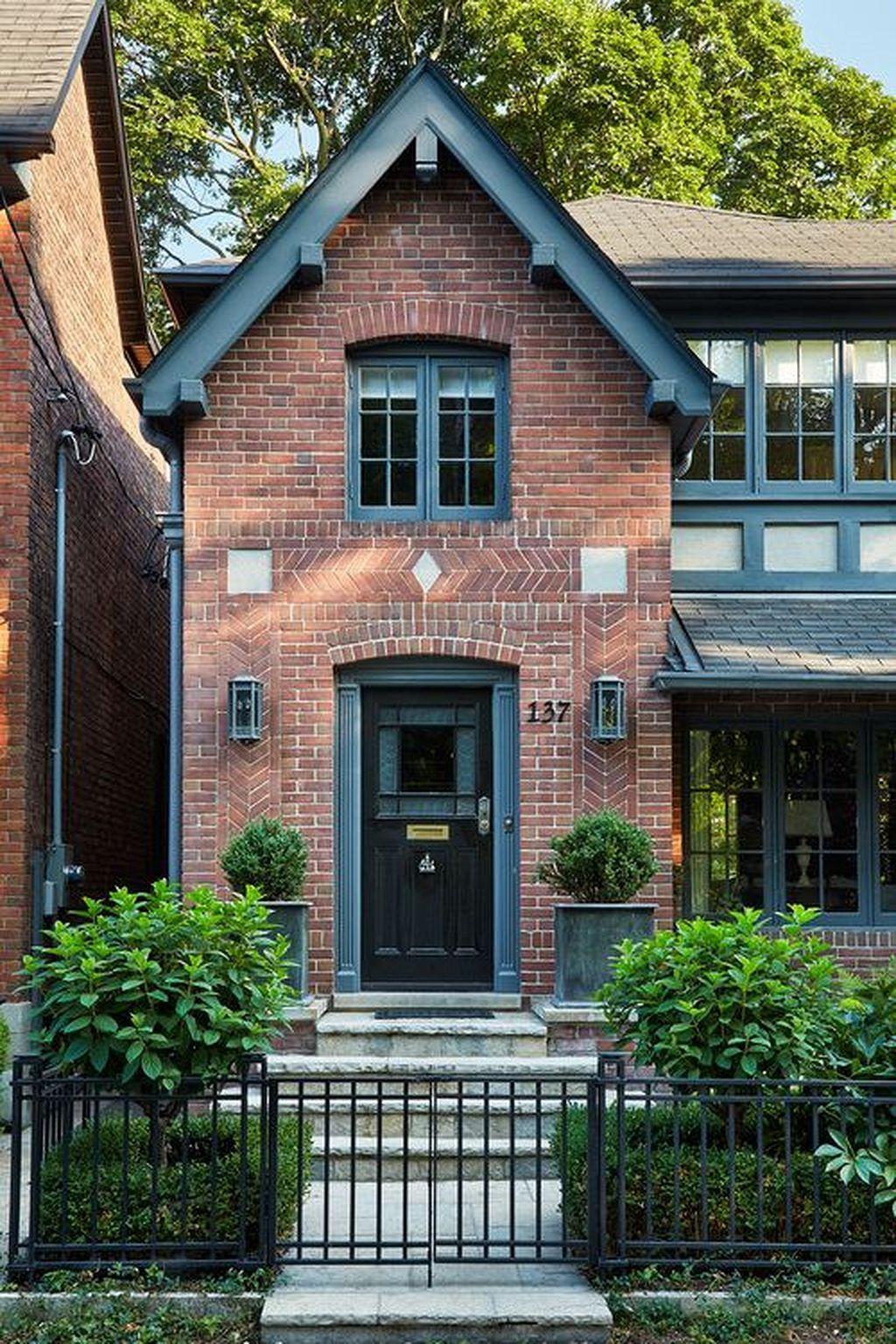 50+ Modern Brick Home Design Brings Innovative #exteriordesign