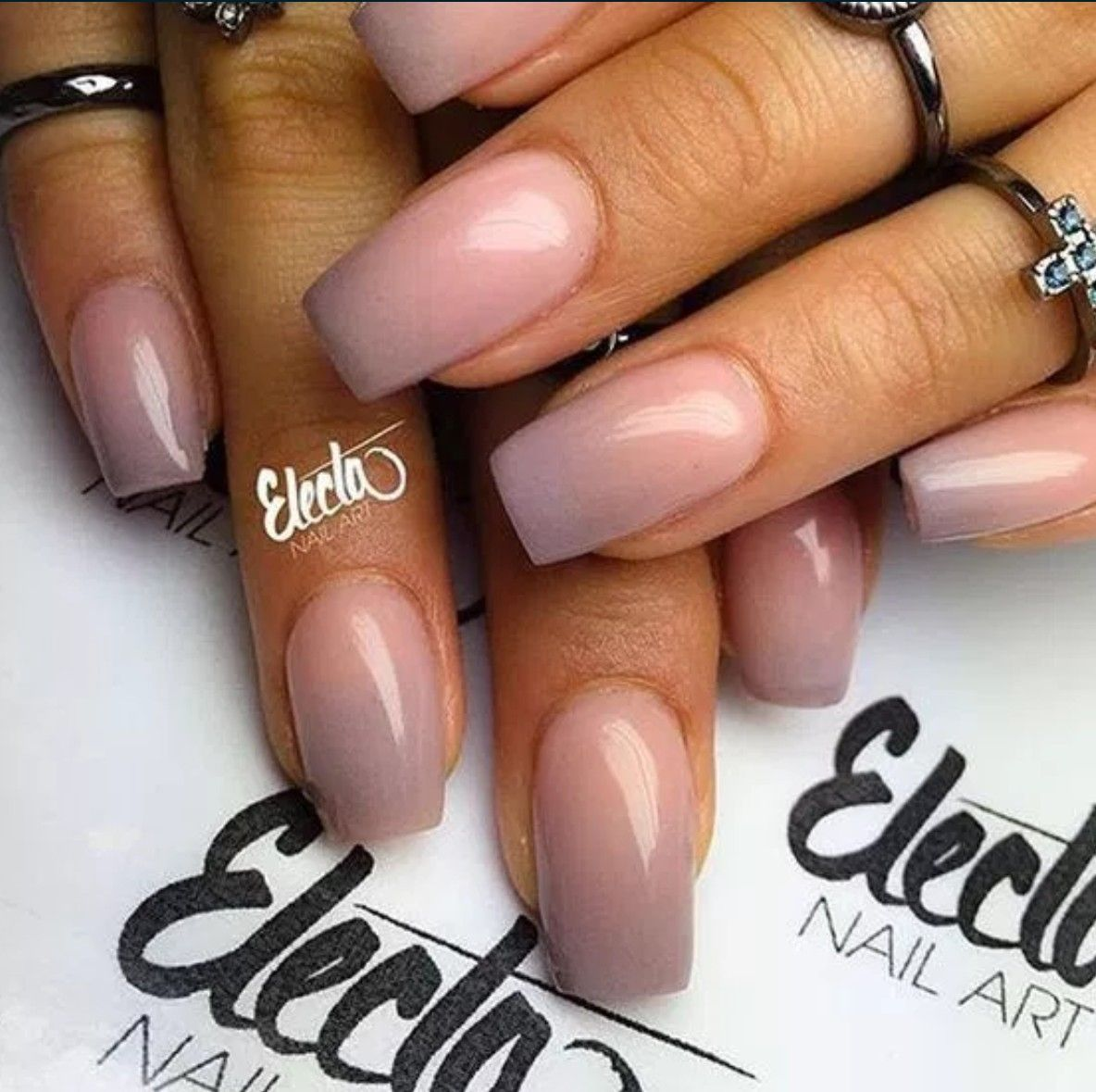 Ombre Nail Art: Image Result For Mauve Ombre Nails