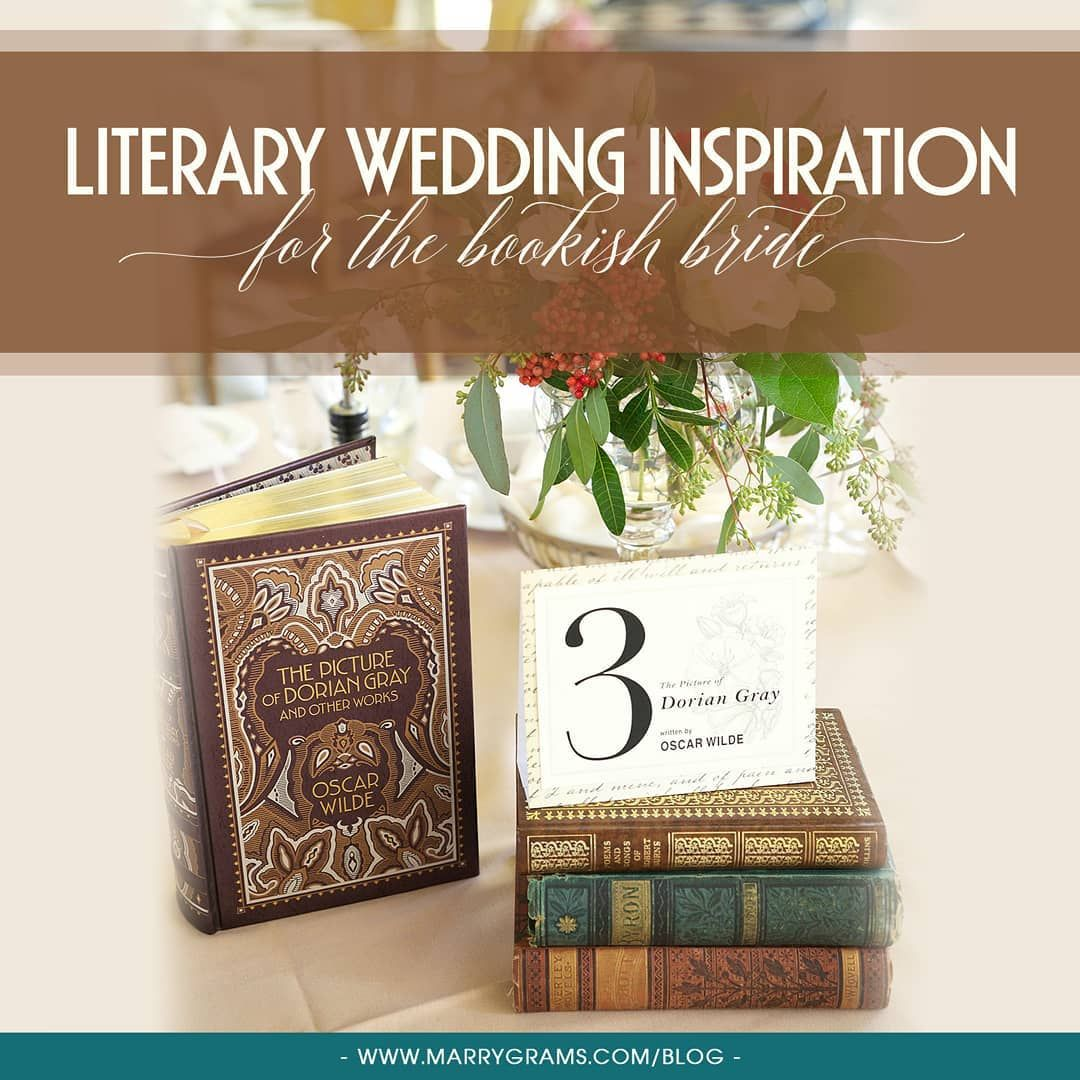 Literary Wedding Inspiration For The Bookish Bride