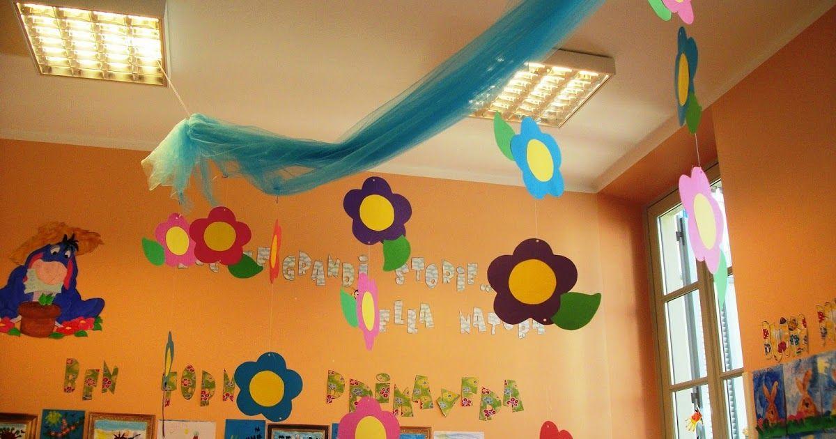 Scuola Dell Infanzia Bambini Classe Aula Sezione Chiocciole