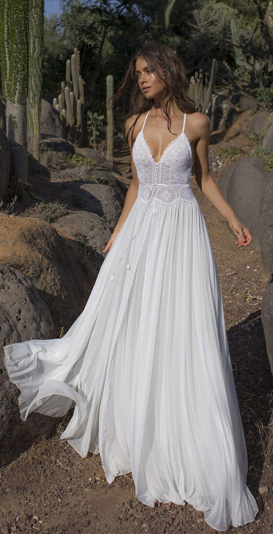 32 Beach Wedding Dresses Perfect For A Destination Wedding