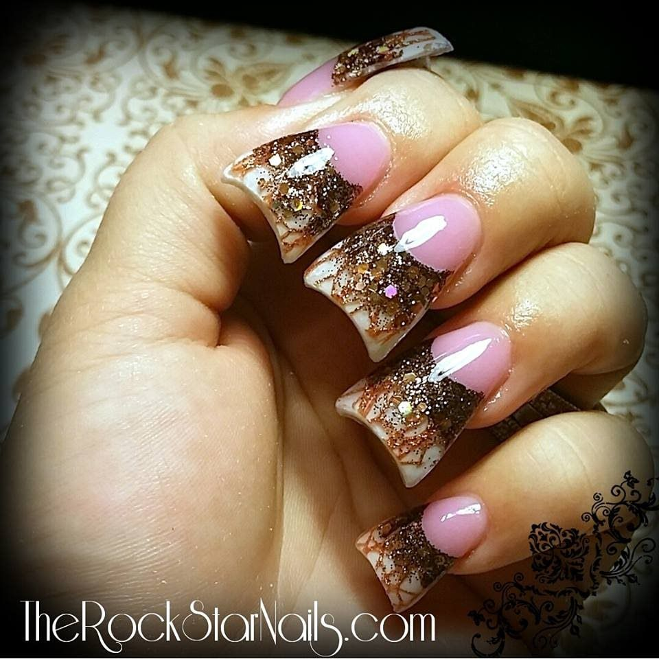 Choose the fall acrylic nail designs all of them are so good in choose the fall acrylic nail designs all of them are so good in looks and get up that people in the party will stare at your fingers more than on your prinsesfo Choice Image
