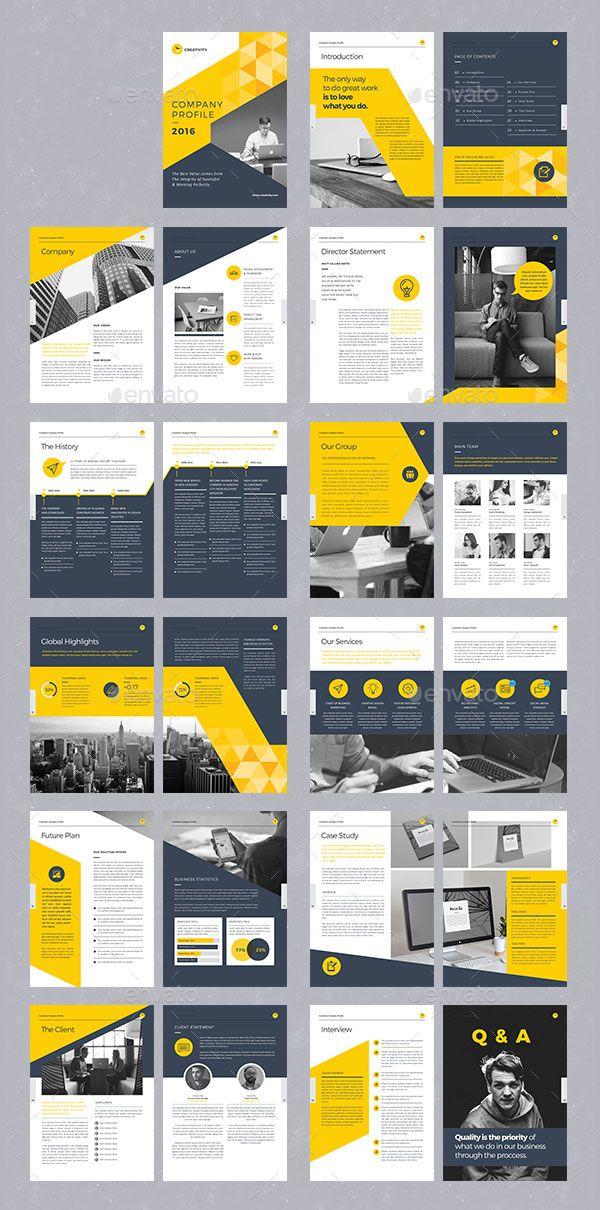 Layout Design Ideas: 20+ Modern Style Brochure / Catalogue / Template Design