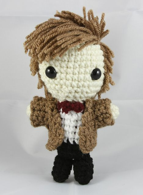 10 FREE Doctor Who Patterns For Mega Fans | Amigurumi | Pinterest ...