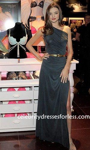 Miranda Kerr One Shoulder Prom Dress Celebs Dresses Victorias Secret
