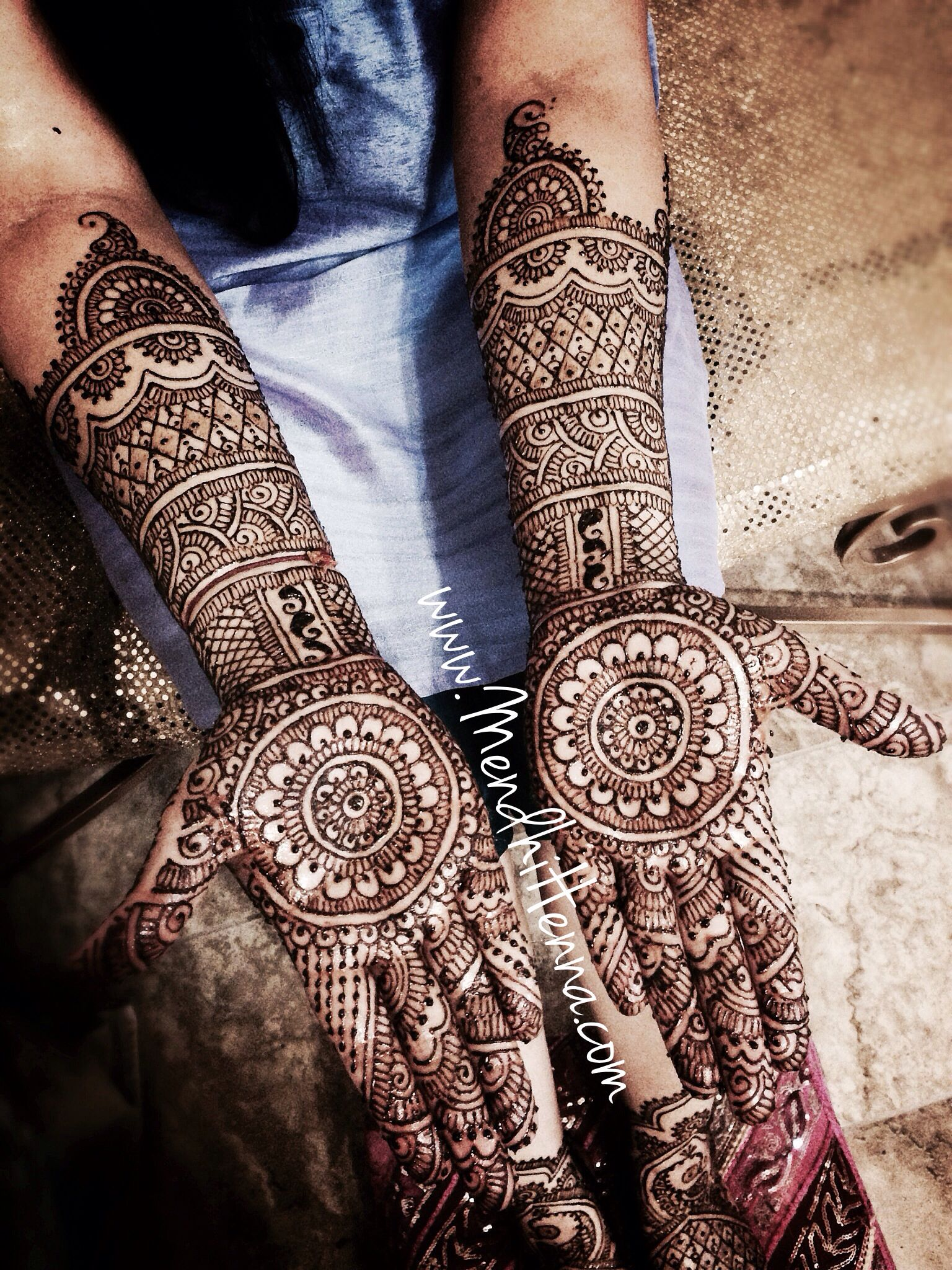 Elegant Henna Designs: 18 Pretty And Elegant Henna Designs For Winter Brides
