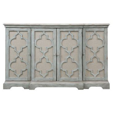 Check out this item at One Kings Lane! Dorchester 4-Door Cabinet