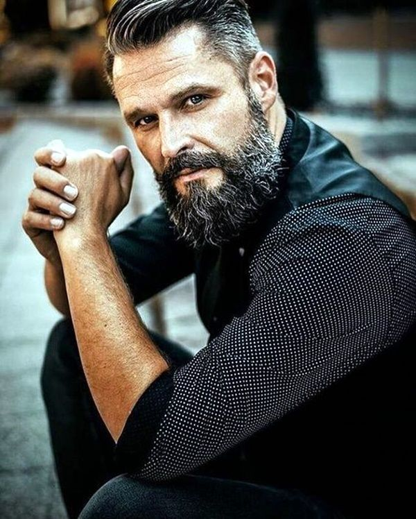 45 Sexy Mens Facial Hair Styles #hairandbeardstyles