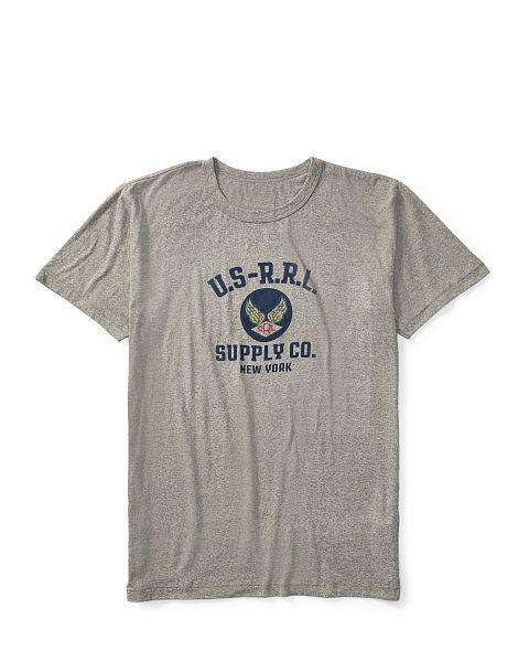 Cotton Jersey Graphic T-Shirt - RRL Sweatshirts - RalphLauren.com