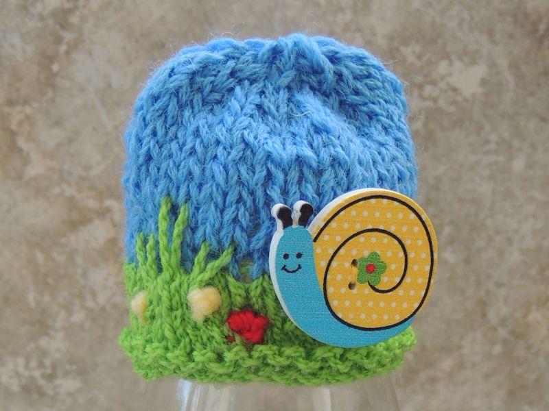 Innocent Smoothie Big Knit Hat Patterns Button Hats Snail ...