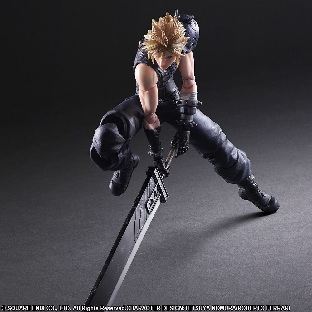 Final Fantasy Vii Remake Play Arts Kai Cloud Strife Final - Create invoice app square enix online store