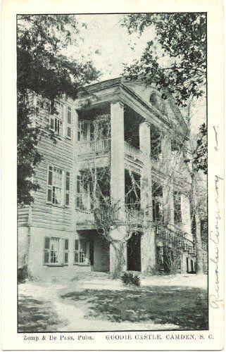 1930s Vintage Postcard - Goodie Castle - Camden South Carolina Vintage Postcard http://www.amazon.com/dp/B007Z7A7Z4/ref=cm_sw_r_pi_dp_URZYwb1N3DRQ8