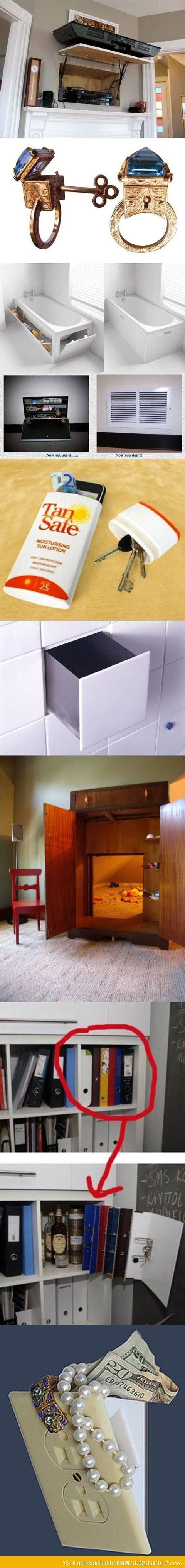 Smarty pants secret hiding places zuhause haus verstecken - Geheimversteck mobel ...