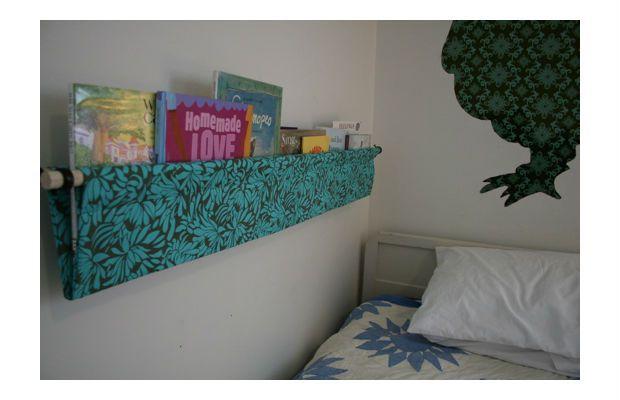 Skinny Book Shelves For Kids Bed Room