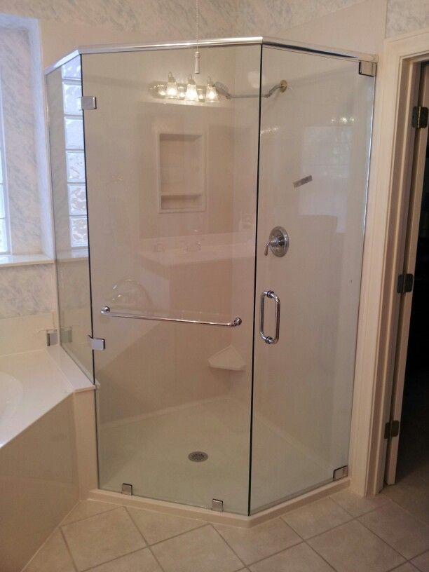 Custom Neo Frameless Shower For Rebath Of Austin Pimp My Bathroom