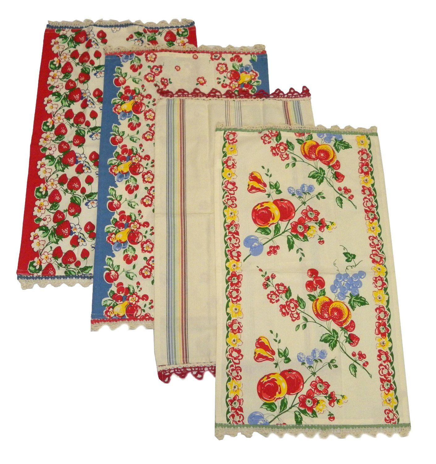 Christmas Kitchen Towels At Walmart: Berries Jubilee Kitchen Dish Towels By Moda
