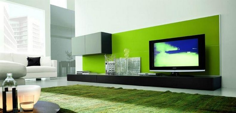 contemporary cabinets entertainment center | wall units for living