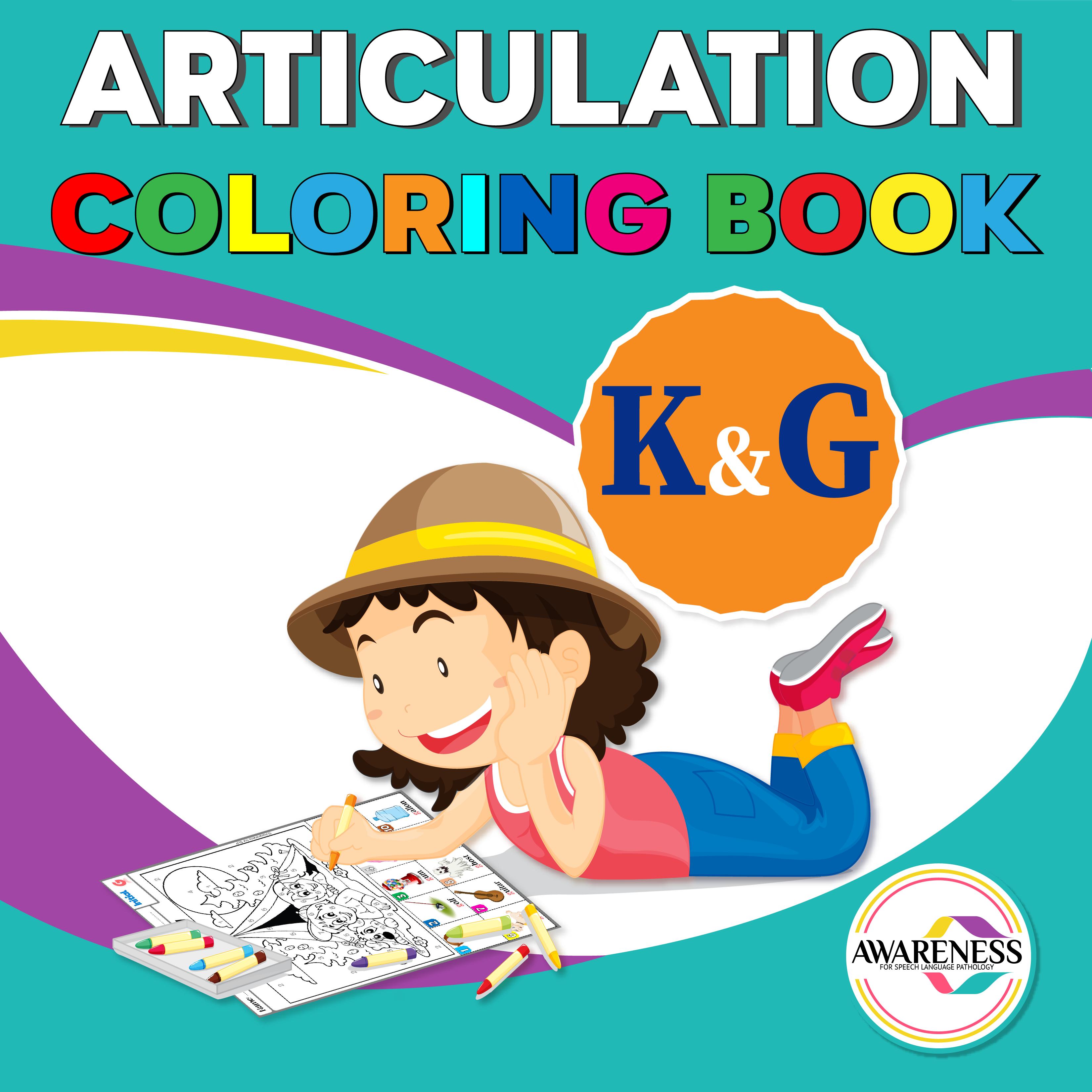K And G Articulation Worksheets