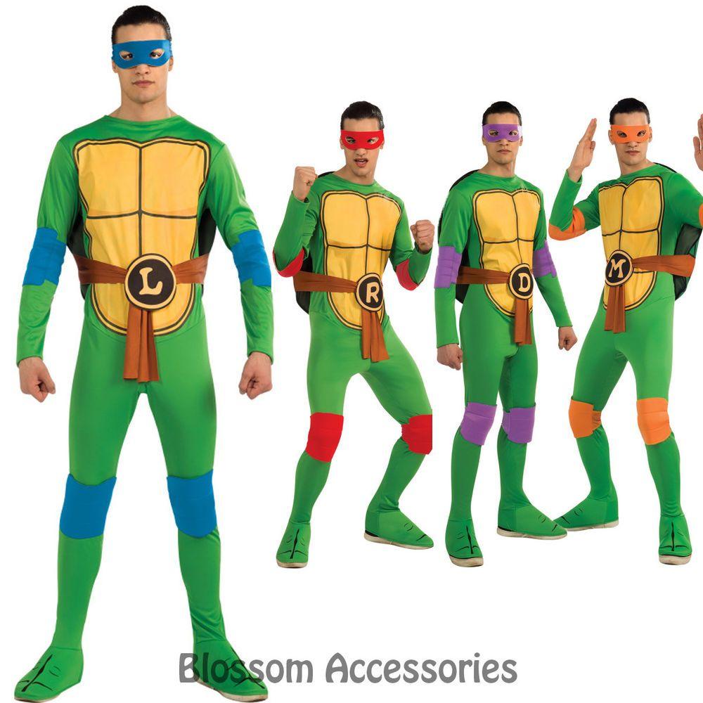 C890 Teenage Mutant Ninja Turtles TMNT Donatello Michelangelo etc Adult Costume  sc 1 st  Pinterest & C890 Teenage Mutant Ninja Turtles TMNT Donatello Michelangelo etc ...