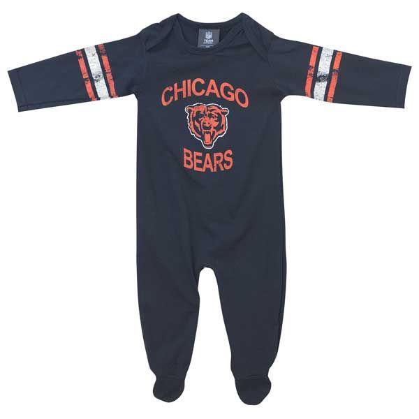 022fcd51b Chicago Bears Infant Navy Full Body Onesie Chicago Bears, Full Body, Baby  Blue,