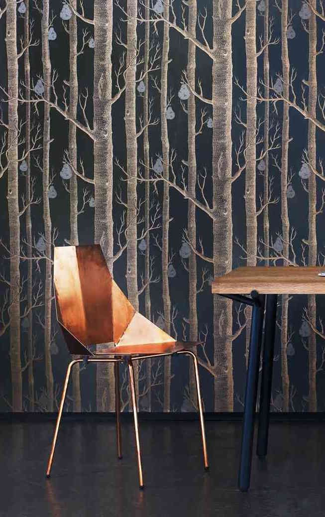The Gleaming Copper Real Good Chair Is The Perfect Metallic Shade For Fall  And Winter.
