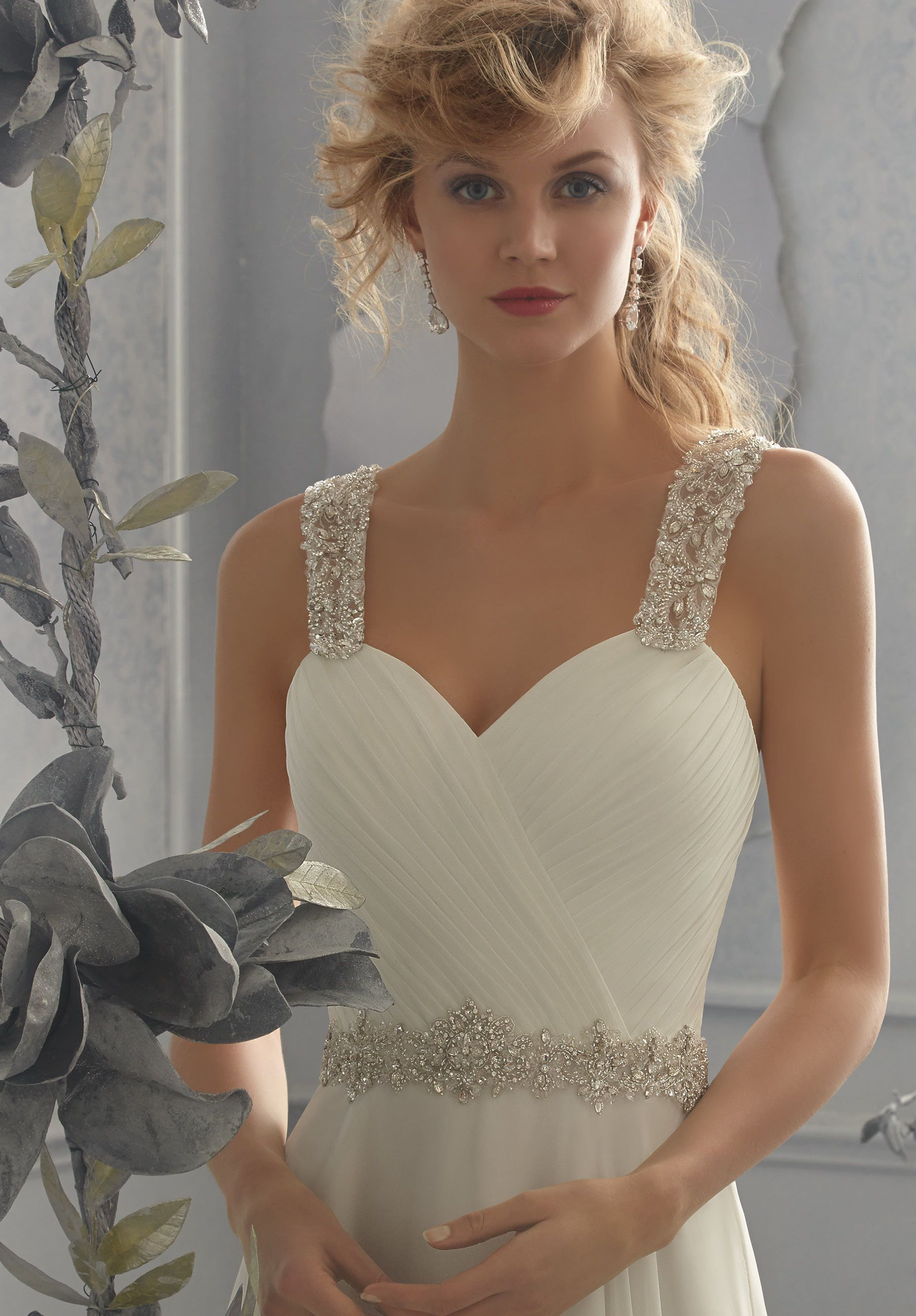 Wedding Gown Accessories REMOVABLE BEADED SHOULDER STRAPS Available ...