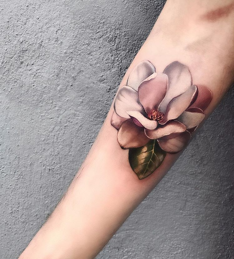 Pony Wave 3d Flower Tattoos Rose Tattoos For Men Waves Tattoo