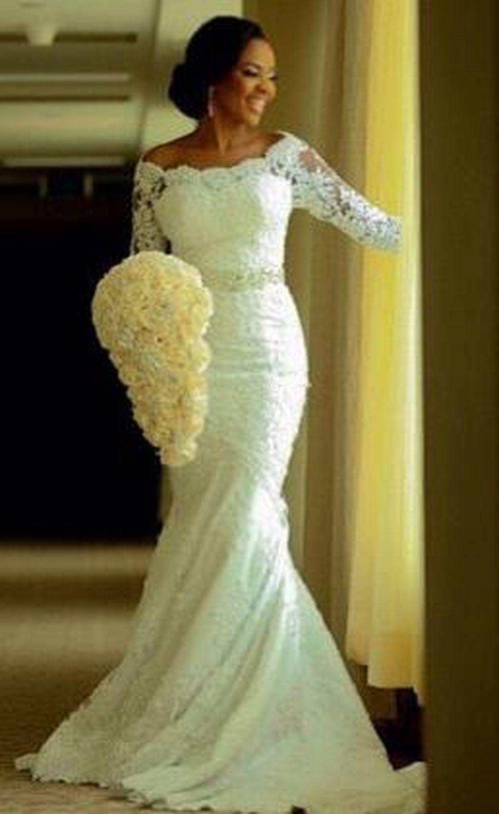 2c6ae4b9f179 awesome 99 Beautiful Princess Mermaid Wedding Dress Ideas  https://viscawedding.com/