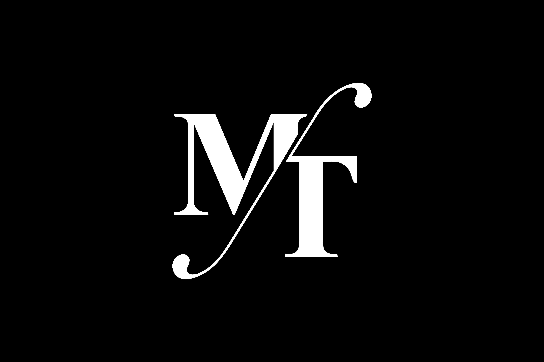 Mt Monogram Logo Design By Vectorseller Thehungryjpeg Com Logo Spon Monogram Mt Thehungryj Yoga Logo Design Monogram Logo Design Initials Logo Design