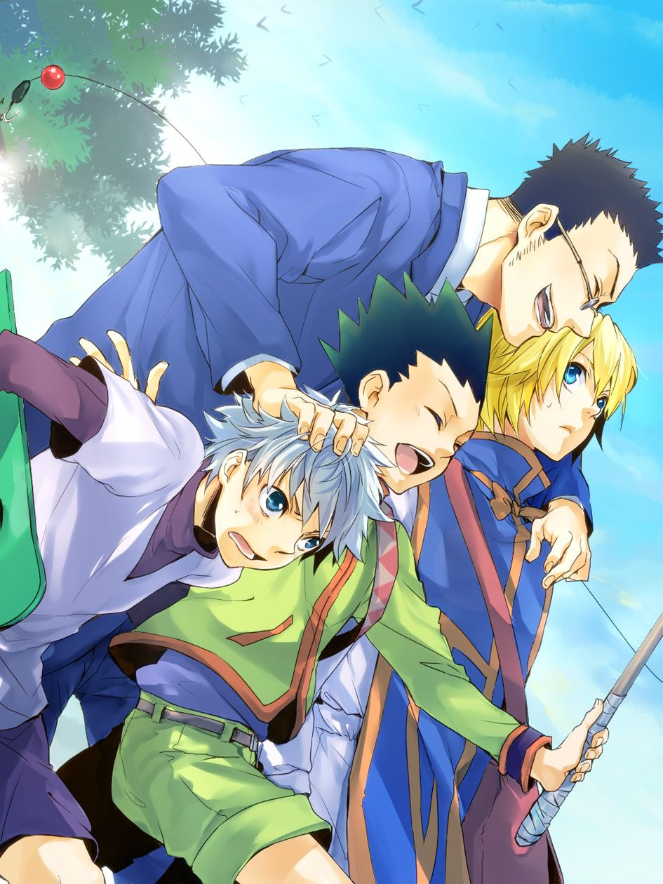 Hunter X Hunter The friendships in this show are amazing