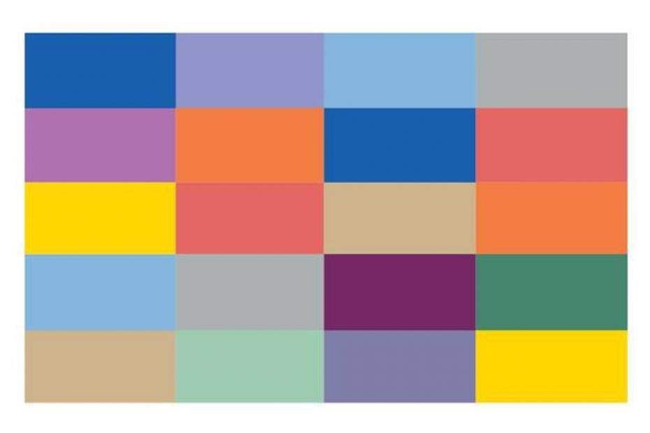Toutes les couleurs tendances pour le printemps 2014 Chambre