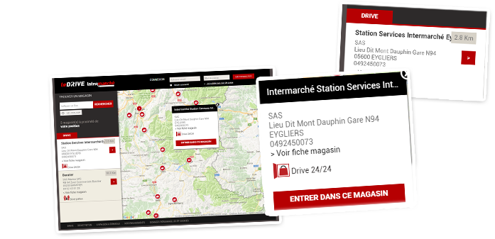 Drive24 en 2020 Applications mobiles, Station service