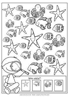 Noch mehr kleine Wörter lesen und malen - | Kindergarten