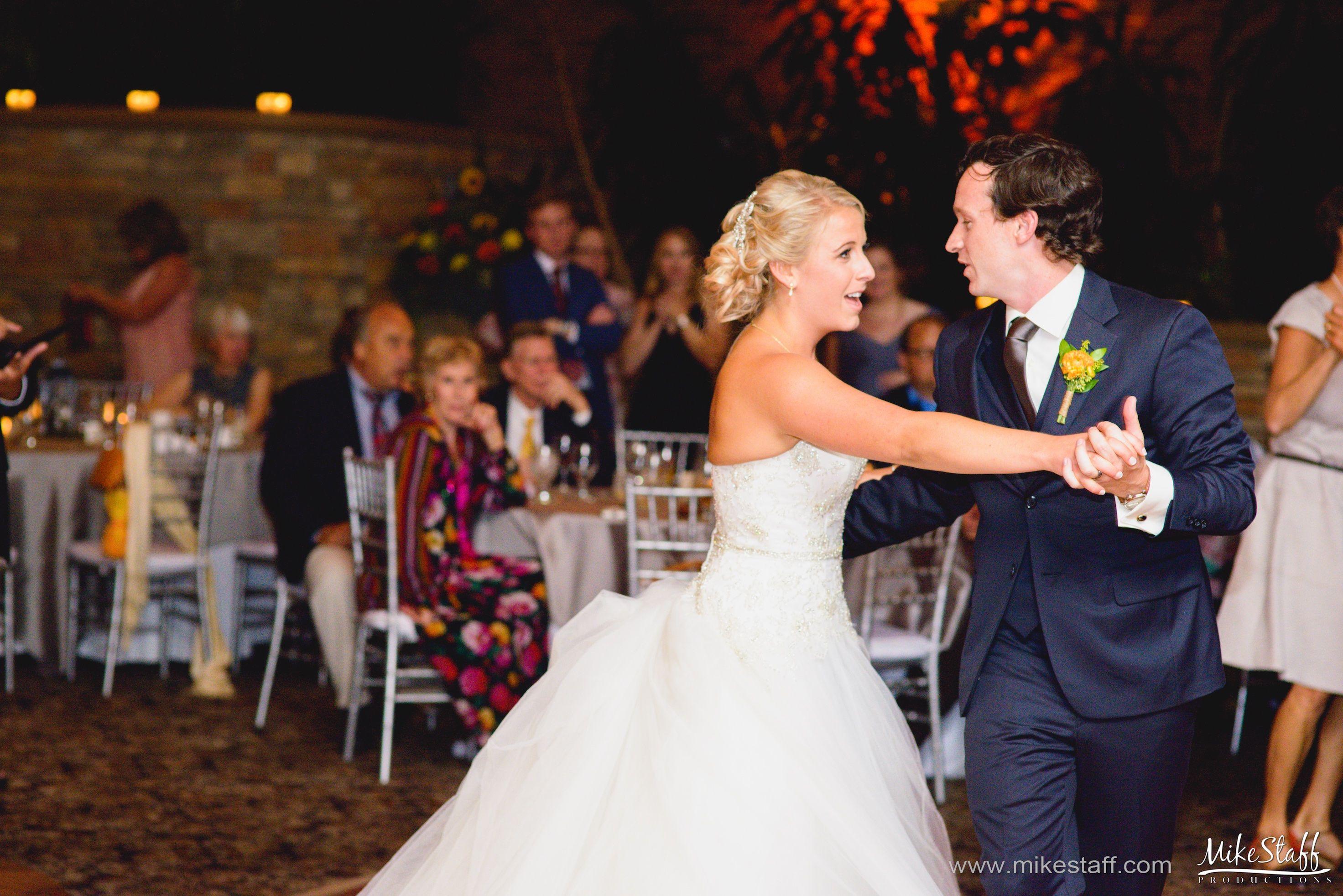 Groom Leads Bride Across The Dance Floor Michiganwedding Chicagowedding Mikestaffproductions Wedding