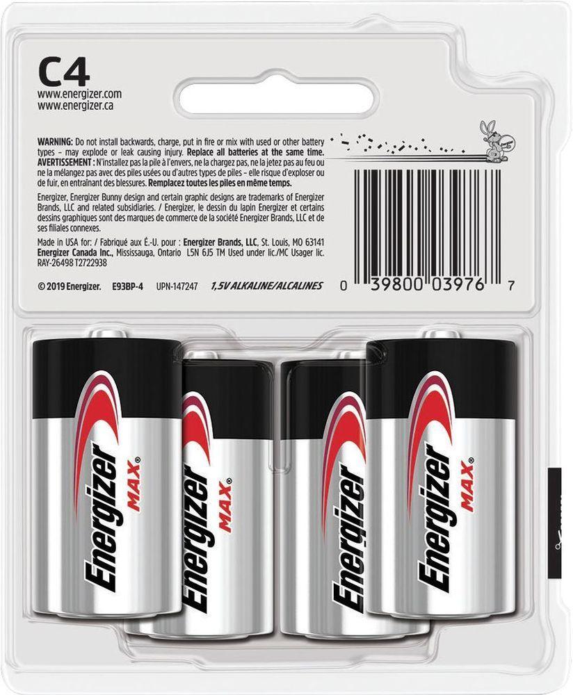 Energizer Max C Batteries 4 Pack E93sbp 4 Best Buy C Batteries Energizer Cool Things To Buy