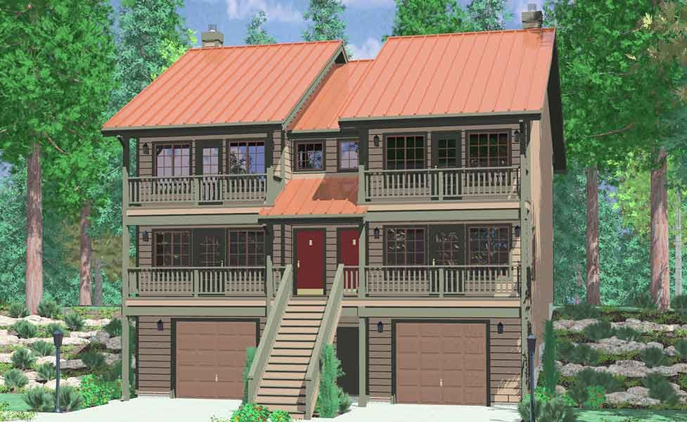 26 Stunning 3 Bedroom House Plans With Front View Design Http Tyuka Info 26 Stunning 3 Bedroom House Duplex House Plans House Construction Plan Duplex House