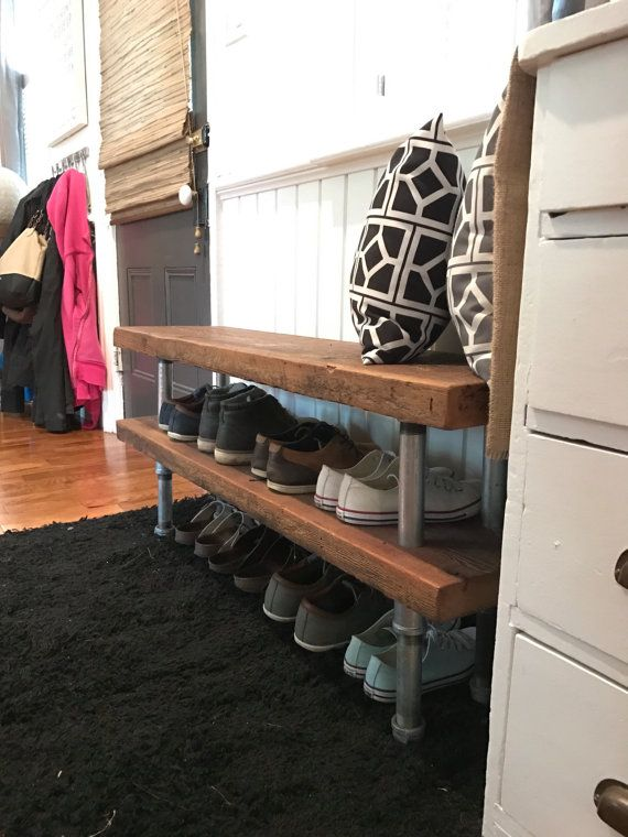 Tuberia Industrial Zapatero Pallet Furniture Shoe Rack Home Shoe Rack