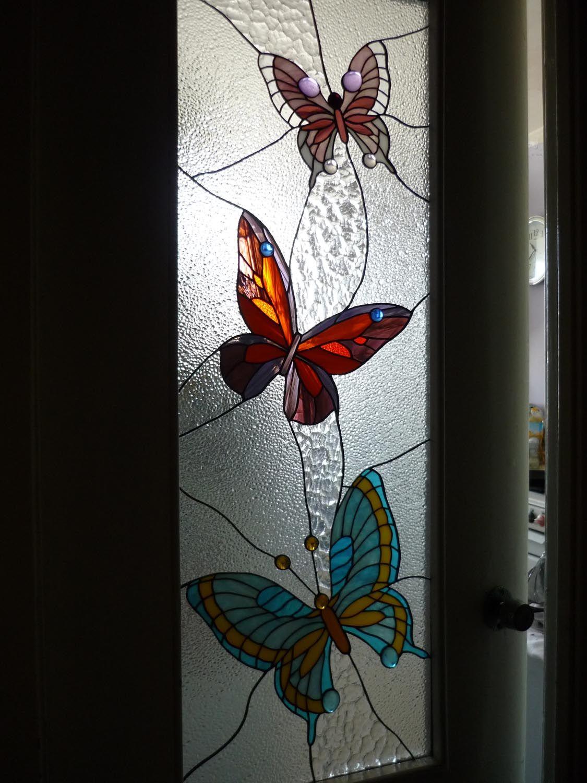 Mariposas del vitral | mariposas y vitrales | Pinterest | Mariposas ...