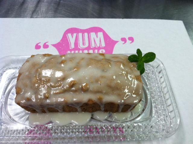 Our Flavoliscious Apple Cake with walnuts.  yumyumstogo.com