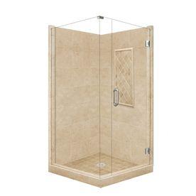 American Bath Factory Panel Medium Fiberglass And Plastic Square