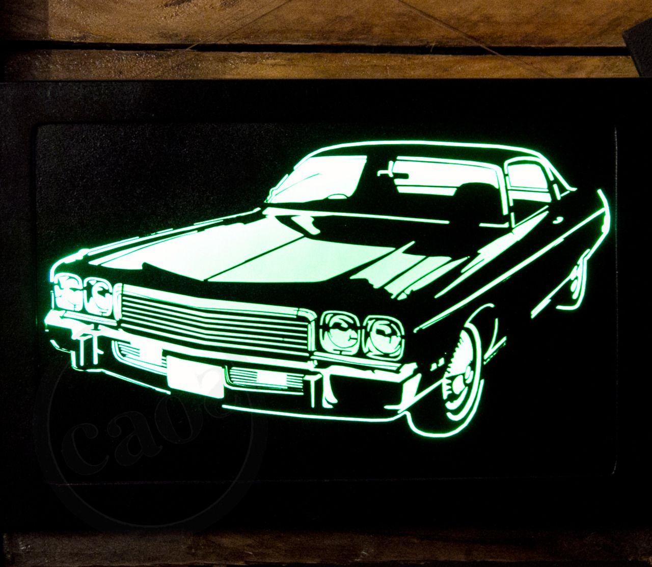 Quadros #Luminosos MM Leds. Diversos desenhos (carros antigos ...