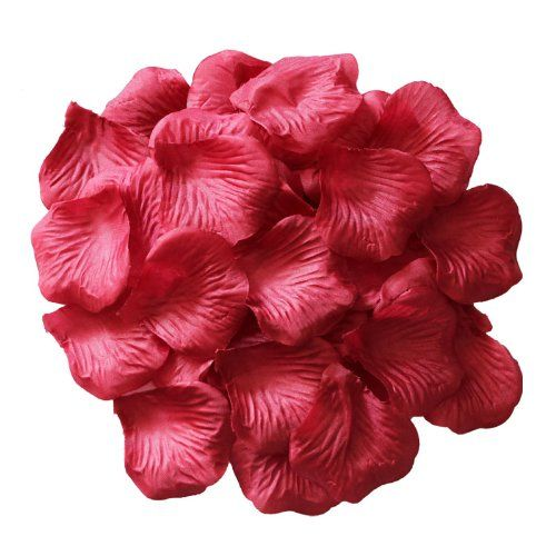 1000pc Silk Rose Petals Wedding Flowers Favors for you special wedding (Dark Red) Afrom Here,http://www.amazon.com/dp/B00J6QCHK0/ref=cm_sw_r_pi_dp_g15ltb0YZS7NCQST