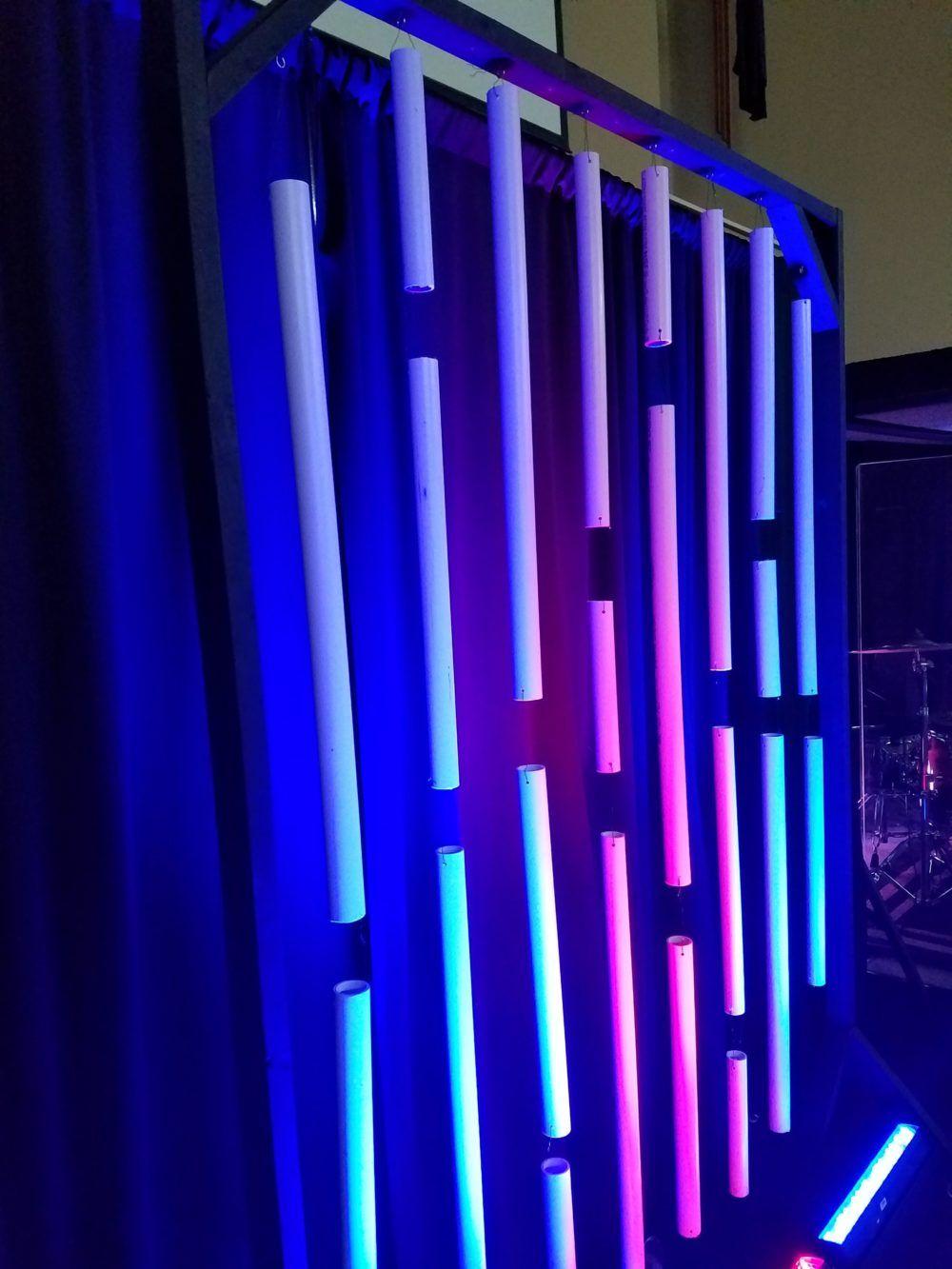 Light Chimes Church Stage Design Church Stage Design Ideas