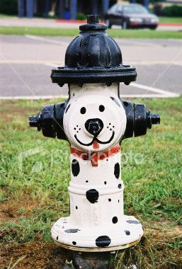 Painted Fire Hydrant Art