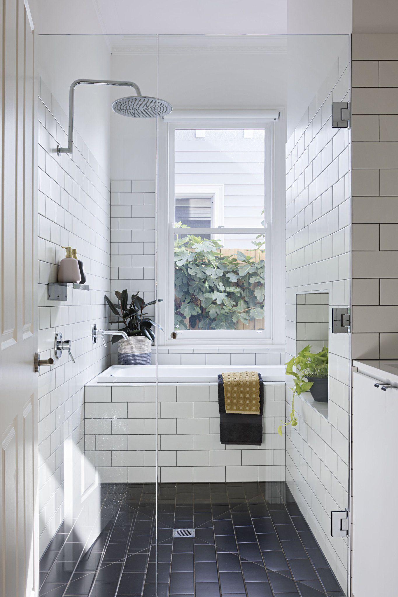 Spaces On With Images White Bathroom Tiles Parisian Apartment Decor Bathroom Design