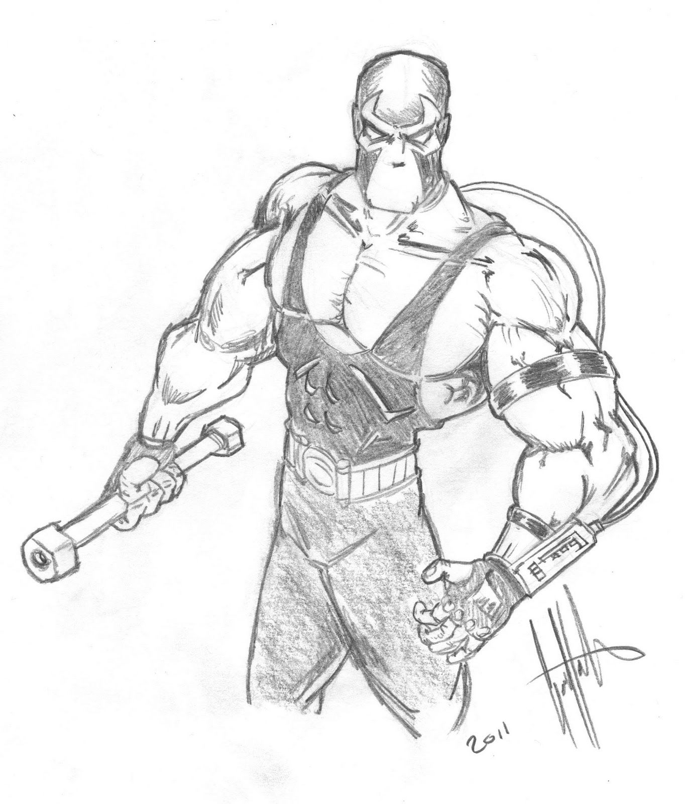 Bane Vs Cyclops