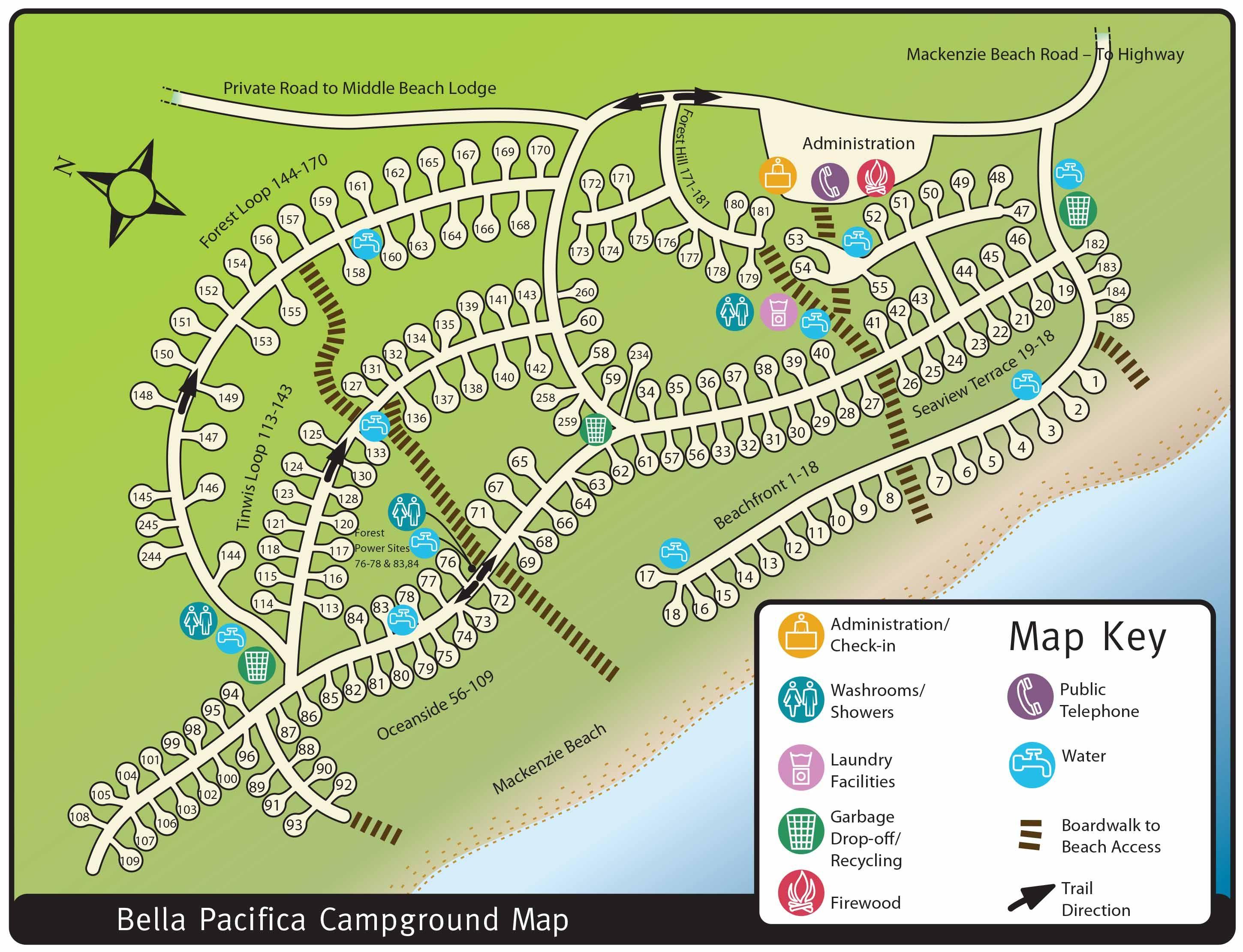 Tofino Campgrounds And Tofino Camping Information Vancouver Island Tofino Campground Vancouver Island