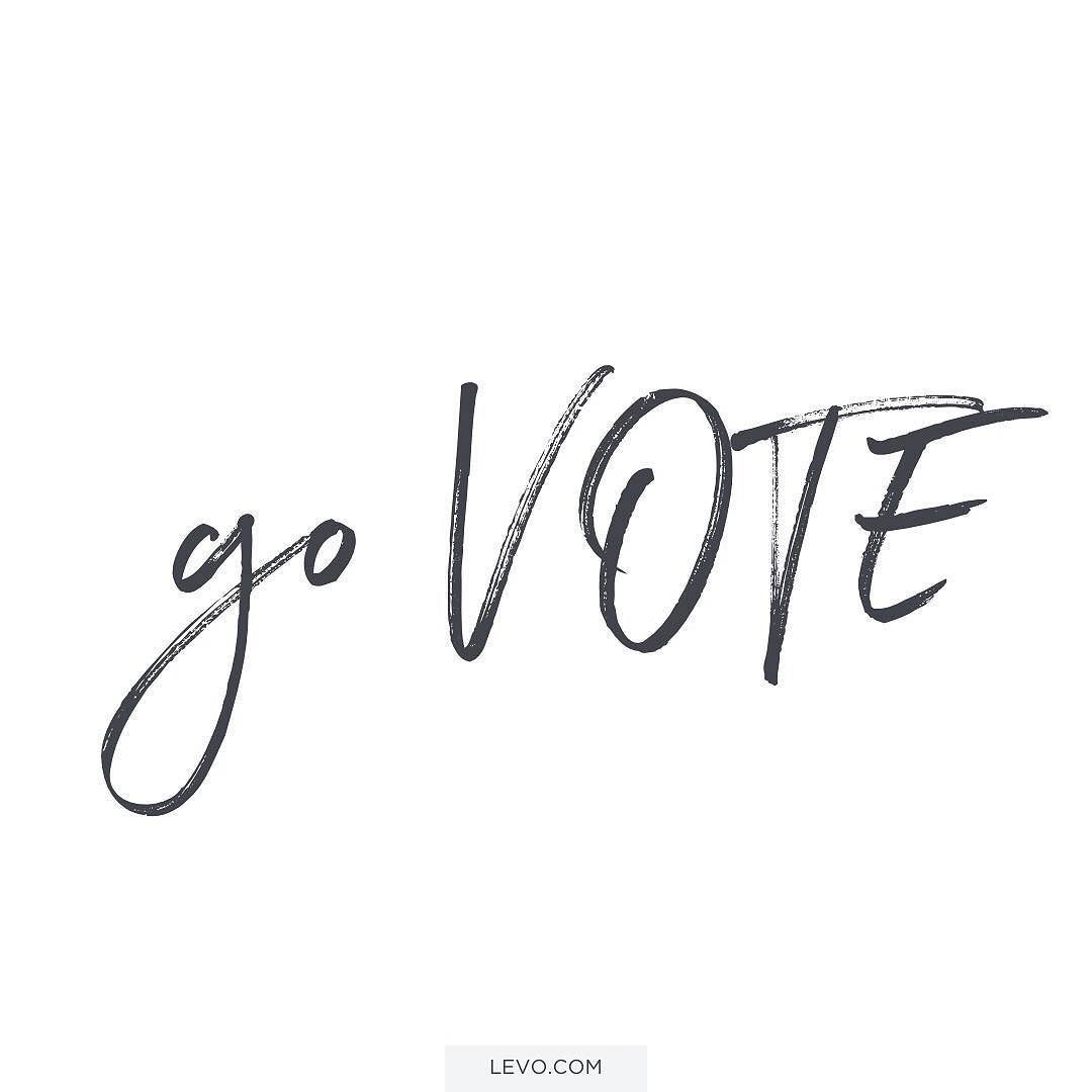 """People think #millennials are disengaged in this election but that couldn't be farther from the truth. Remember today that YOUR VOTE MATTERS. """"Regardless of who you are voting for the most important thing you can do today is to encourage every single person you know to VOTE. The biggest problem right now is voter disengagement because everyone is so sick and tired of this election. But this nation can't afford for us to sit on the sidelines."""" Our Chief Leadership @tdufu with words of…"""